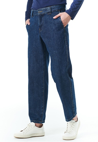 United Colors of Benetton blue Denim Chinos F6627AAD5955C0GS_1
