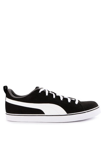 b508f89d83c Puma black and white and multi Court Point Cv V3 Shoes 50AA5SHA718632GS 1