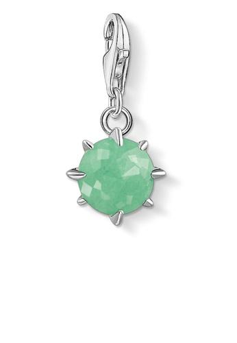 THOMAS SABO green Charm Pendant Birth Stone May 195F8AC6E89836GS_1