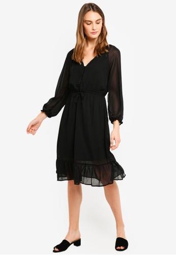 f5ed4c426e3 Shop Cotton On Woven Raquel Winter Maxi Dress Online on ZALORA ...