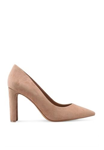 ALDO beige Febriclya Pump Block Heels 5185CSH549B9C2GS_1