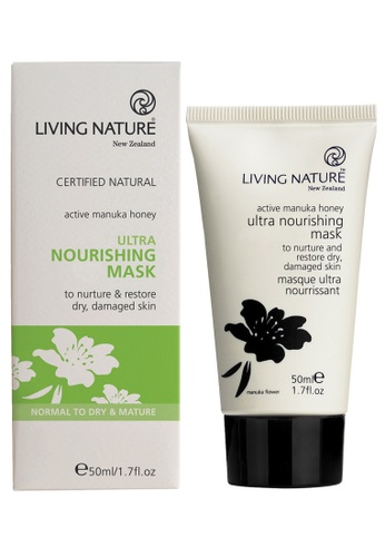Living Nature black and white Ultra Nourishing Mask LI761BE52MBBMY_1