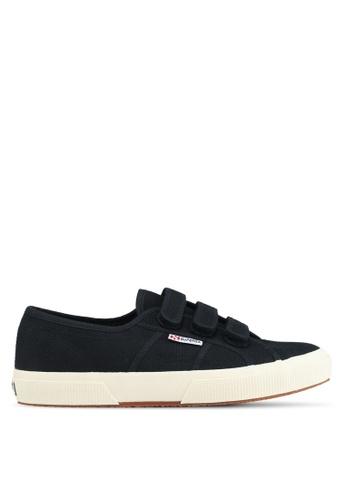 Superga black Cot3Strapu Sneakers C3053SHBE19D9FGS_1