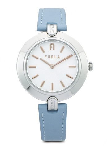 FURLA Watches blue and silver Ladies Silver Dress Watch C588EAC6B9E355GS_1