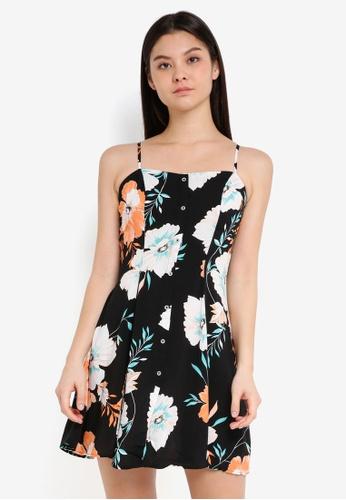 Cotton On black and multi Woven Krissy Dress 3B1C2AA671911DGS_1