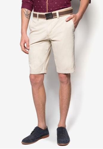 腰帶休閒短褲, 服飾,esprit分店 短褲
