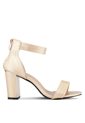 Alfio Raldo gold Strappy Heels AL803SH0R9PHMY_1