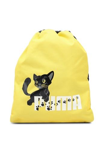 Puma black Animal Gym Sack 4A6EDKC7F5B673GS_1