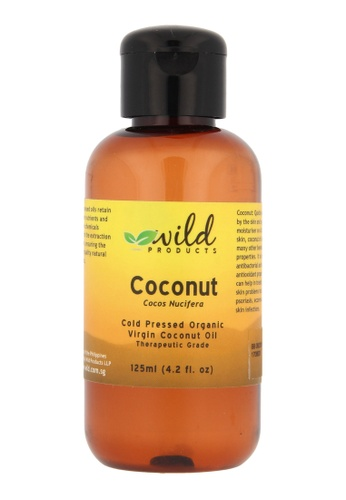 Wild Products Coconut Oil (Organic, Virgin) - 125ml EE2C5BE733AD04GS_1