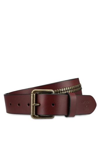 SUPERDRY brown Bronson Leather Belt - Original & Vintage D5507ACAA138BEGS_1