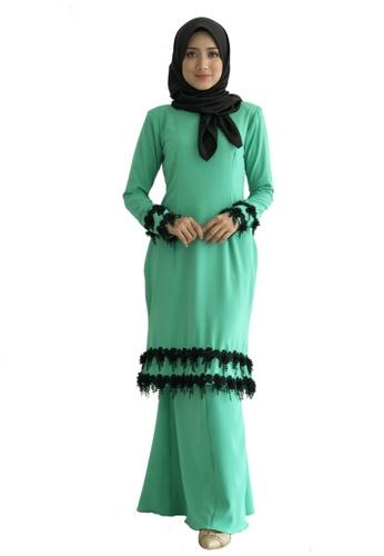 Farosa Kurung Adelia from Farosa in Green