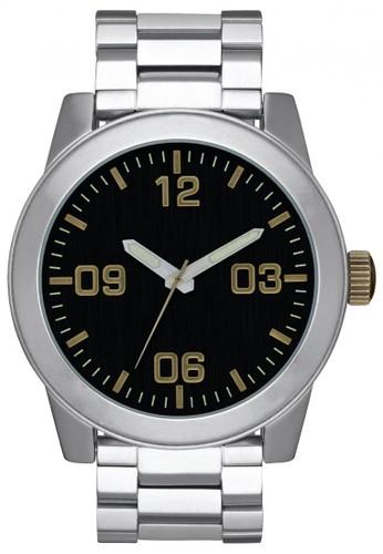Nixon silver CORPORAL SS BLACK/BRASS B84F8ACD45E59CGS_1