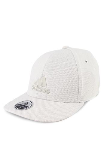 adidas white adidas h90 logo cap AD372AC0SUTJMY_1