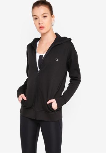 Calvin Klein black HD Modular Sweater Jacket - Calvin Klein Performance CAEA3AA53E87BEGS_1