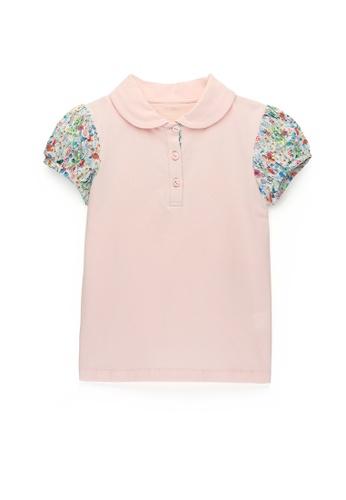 Kingkow pink Cotton Polo Shirt 4-14 years B50DEKA6CCFDC9GS_1