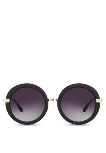 Zisman 圓框太陽aldo台灣專櫃眼鏡, 飾品配件, 復古框