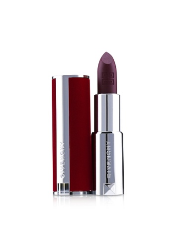GIVENCHY GIVENCHY - Le Rouge Deep Velvet Lipstick - # 42 Violet Velours 3.4g/0.12oz 9B0FABEEA5AE80GS_1