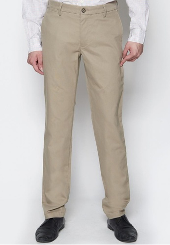 Dockers brown Dockers Standard Clean Khaki Extra Slim Pants Timber Wolf 7E81AAAC29EEFFGS_1