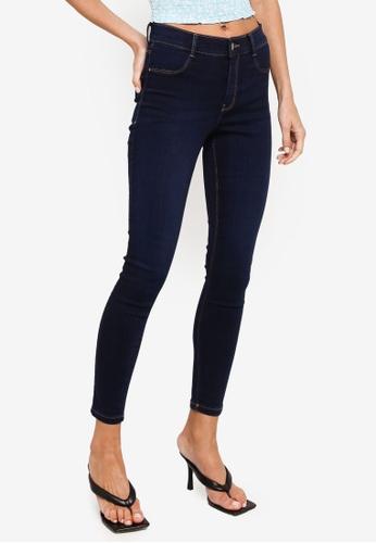Dorothy Perkins blue Mid Wash Frankie Jeans F3C72AAD85F96DGS_1