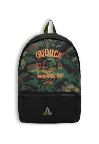 B.Duck multi Army Backpack AD942KC5EB0B4EGS_1