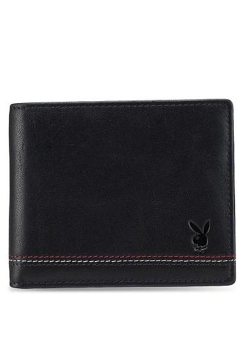 Playboy black Playboy Bi-Fold Rfid Blocking Wallet E8891ACBBBFAC4GS_1