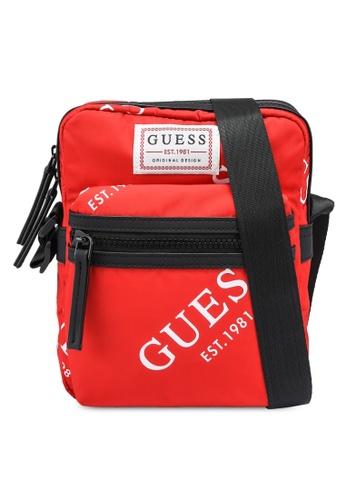 Guess red Originals Camera Bag 77C21ACFE997B1GS_1