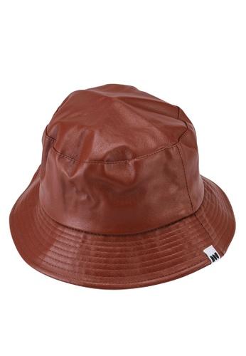 Milliot & Co. brown Dylan Bucket Hat B5A81AC6F1913EGS_1