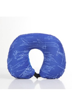 Airplanes Neckpillow with Blanket