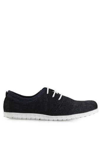 Dr. Kevin black Loafers, Moccasins & Boat Shoes Shoes 13297 Hitam Denim DR982SH10MHTID_1