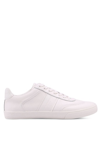 KG Kurt Geiger white Alverez Leather Sneakers D817ASH025A29BGS_1