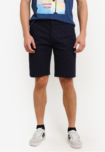 Marc & Giselle navy Bermuda Short Pants MA188AA0S15TMY_1