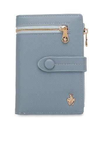 Swiss Polo 藍色 Ladies Short Purse 59F34AC434EC25GS_1