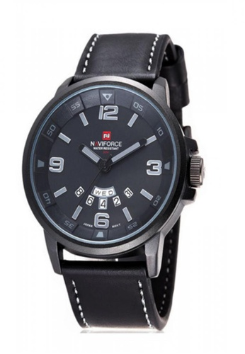 Fashion by Latest Gadget black Naviforce NF9028 30M Waterproof Analog Watch FA499AC82KBTPH_1