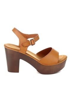 Farrah Chunky Heeled Platform Sandals
