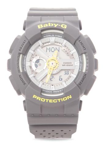 cff5fcedddc3 Shop Casio BABY-G Digital Analog Watch BA-110PP-8A Online on ZALORA  Philippines