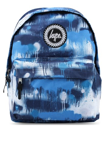 Just Hype blue Street Backpack D2669ACD816577GS_1