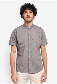 JAXON grey Nautical Stripe Shirt 9554BAAB27C370GS_1
