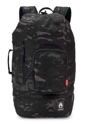 Nixon black Origami Backpack - Black Multicam (C29483015) 38497AC9E769C0GS_1