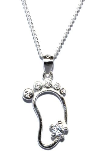 Venice Jewelry silver Venice Happy Sole Necklace VE564AC10GMBPH_1