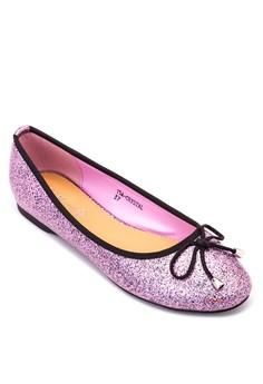 Crystal Ballet Flats