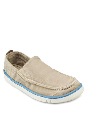 Hoesprit retailokset 水洗帆布懶人鞋, 女鞋, 鞋
