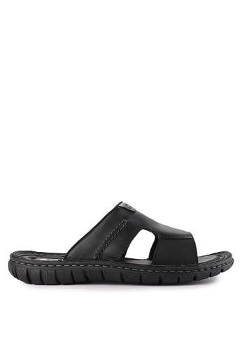 Pakalolo Boots black Slip On Sandal 3FF3CSH67607BBGS_1