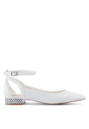 ALDO white Serisien Low Heels C9FDDSH7227AABGS_1