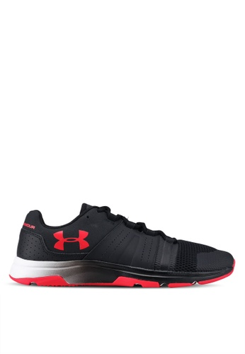 Under Armour black UA Raid TR Shoes UN337SH0SU9XMY_1