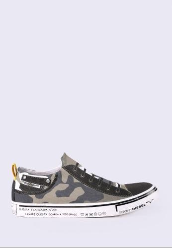 Diesel green S-Imaginee Canvas Sneakers B8CA4SH6EEF4D1GS_1