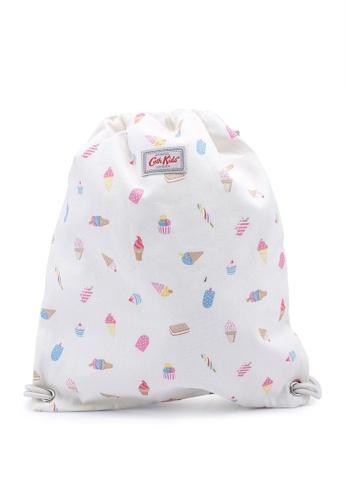 Cath Kidston white Ice Creams Kids Drawstring Bag 1D6FCKC019224EGS_1