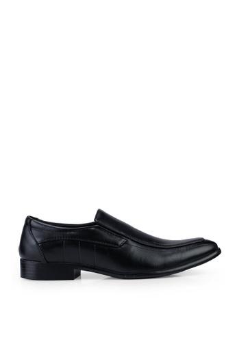 UniqTee 黑色 Slip On Formal Shoes B235FSH7621D61GS_1
