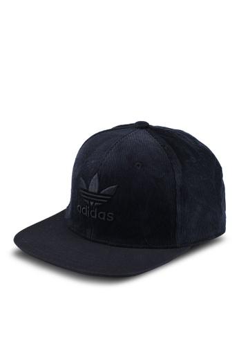 98c542e9 adidas black adidas originals tref herit snapback cap 93F40AC091211DGS_1