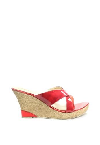 Beauty Shoes red Beauty Shoes EL136 Adora Wedges Red B5C2ESHD894FC2GS_1