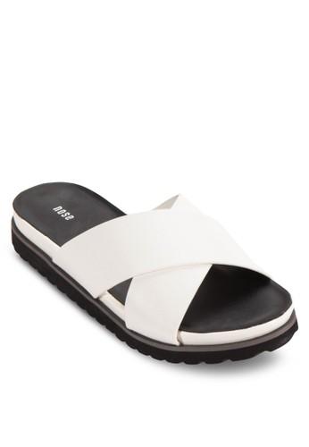 交叉寬帶esprit 童裝拖鞋, 女鞋, 鞋
